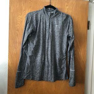 Nike 1/4 zip pop over running jacket M